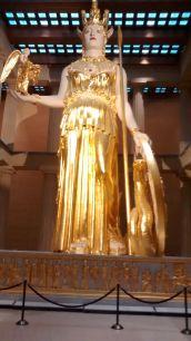 Athena at the Parthenon